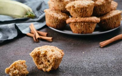 Chocolate Zucchini and Carrot Muffins