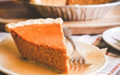Diabetic Friendly Pumpkin Pie & Almond Flour Pie Crust