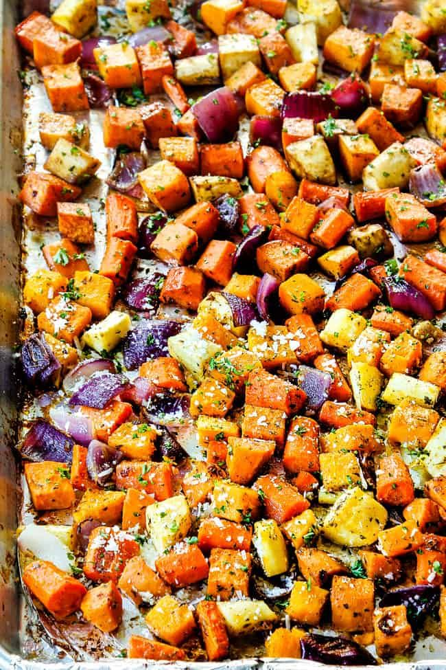 spiced-root-vegetables-on-roasting-pan